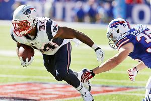 If Stevan Ridley falters, Shane Vereen will become the feature back as he is already the receiving back.