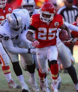 Jamaal Charles needs to carry the Kansas City offense once again to make them successful.