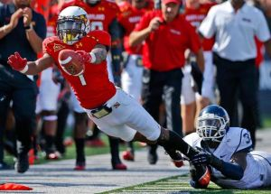 Widely regarded as one of the best wideouts in college football, Stefon Diggs will need CJ Brown to have an accurate game if he wants his numbers to improve in Week 2.