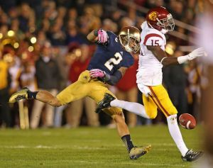 Even with Marquis Lee catching passes last year, Nelson Agholor was seen as the best talent on the Trojans.