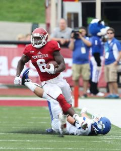 Big plays from Tevin Coleman may be the difference in this week's matchup with Maryland.
