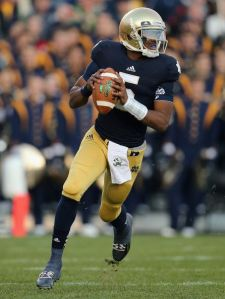 A big game from Everett Golson could go a long way.