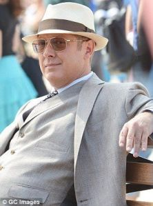 "Raymond Reddington is the definition of ""badass""."