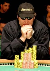 Decorated poker champion, Phil Helmuth.