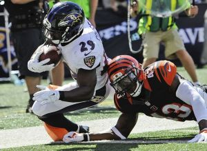 Perhaps the most pleasant surprise this year for the Ravens has been Justin Forsett.