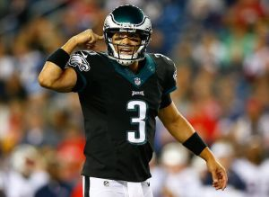 If Sanchez can use his head more, this might be a controversy when Foles gets back.
