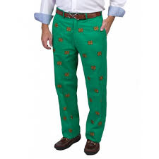 Notre Dame Stadium Pant by Pennington and Bailes