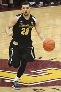 Menacing on offense and defense, Fred Van Vleet looks to lead the way for the Shockers.