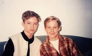 Yes, Gosling and JT were friends before they were cool.