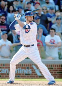 Kris Bryant is essentially the next Bryce Harper.....except he's older than him. Credit to Jerry Lai-USA TODAY Sports