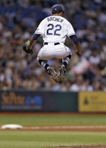 Chris Archer and the Tampa Bay Rays have to be jumping for joy at their current trajectory.