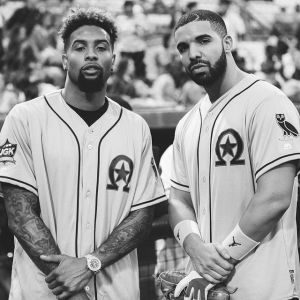 Drake is the biggest bandwagon fan ever. But if there's someone to get on the bandwagon for, it's Odell Beckham.