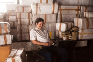 Wagner Moura as drug kingpin, Pablo Escobar.