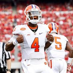 Clemson will look for Deshaun Watson to lead the way.