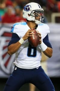 In a surprising first week, Marcus Mariota looked comfortable for the Titans.