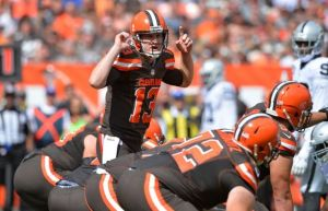 Will Josh McCown be airing it out against a weak Baltimore pass defense?