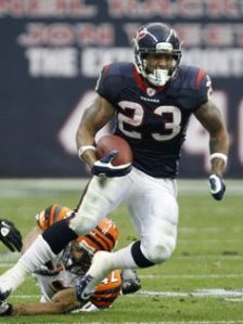 Arian Foster should be a nice boost to the Texans offense.