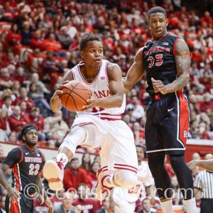 Gotta protect the ball and make smart decision. That begins, for Indiana, with Yogi Ferrell.