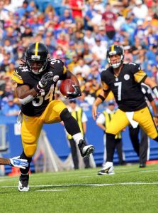 Williams and the Steelers are looking for a big bounce-back game.