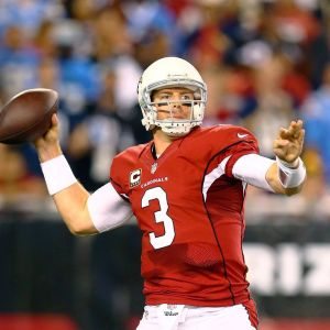 The better season and better quarterback will prevail. This time it will be Carson Palmer.