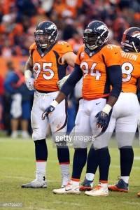 Derek Wolfe, DeMarcus Ware, and Terrance Knighton will play a big role in how the Panther offense moves the ball.