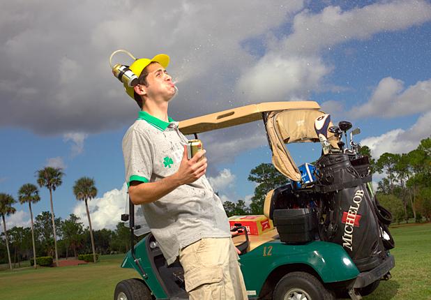 Drunk Golfer