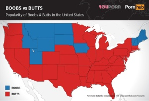 pornhub-boobs-versus-butts-united-states