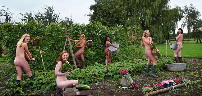World Naked Gardening Day