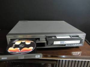 DVD VHS player