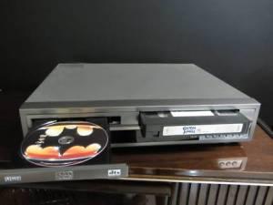 DVD VHS player