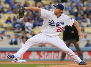 Clayton Kershaw MLB Los Angeles Dodgers
