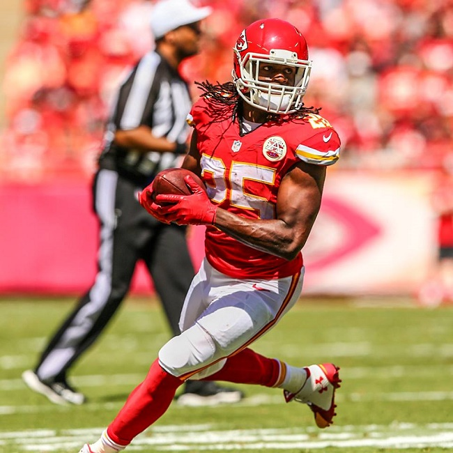 Jamaal Charles NFL Kansas City Chiefs