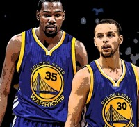 Kevin Durant Stephen Curry Golden State Warriors