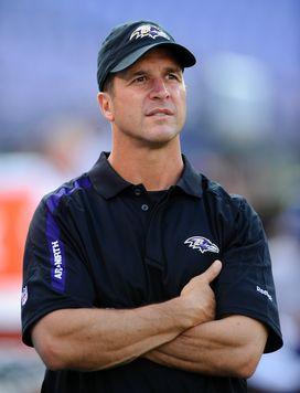 John Harbaugh Baltimore Ravens
