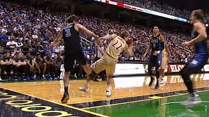 Grayson Allen tripping Duke