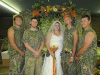 trashy wedding
